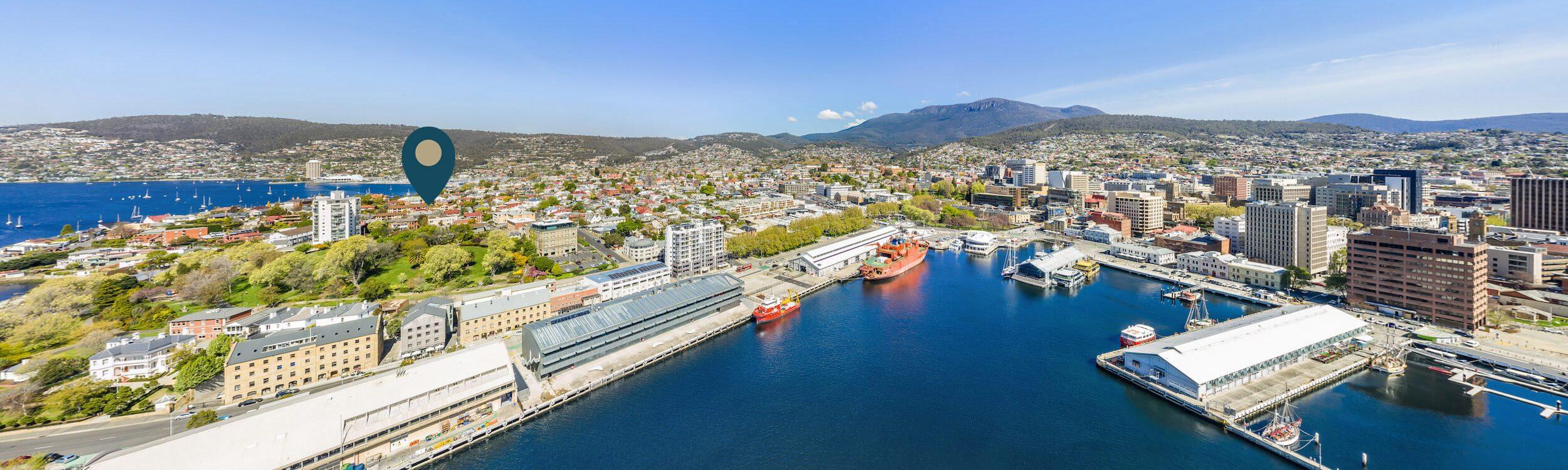 Sullivans Cove Apaprtments - 5 star apartments in Hobart