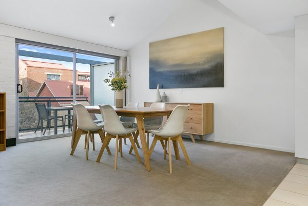 IXL 2 Bedroom loft Hobart apartment